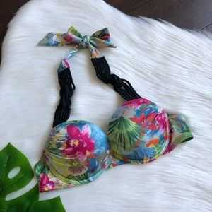 VS Miraculous Tropical Floral Bombshell Bikini 34A